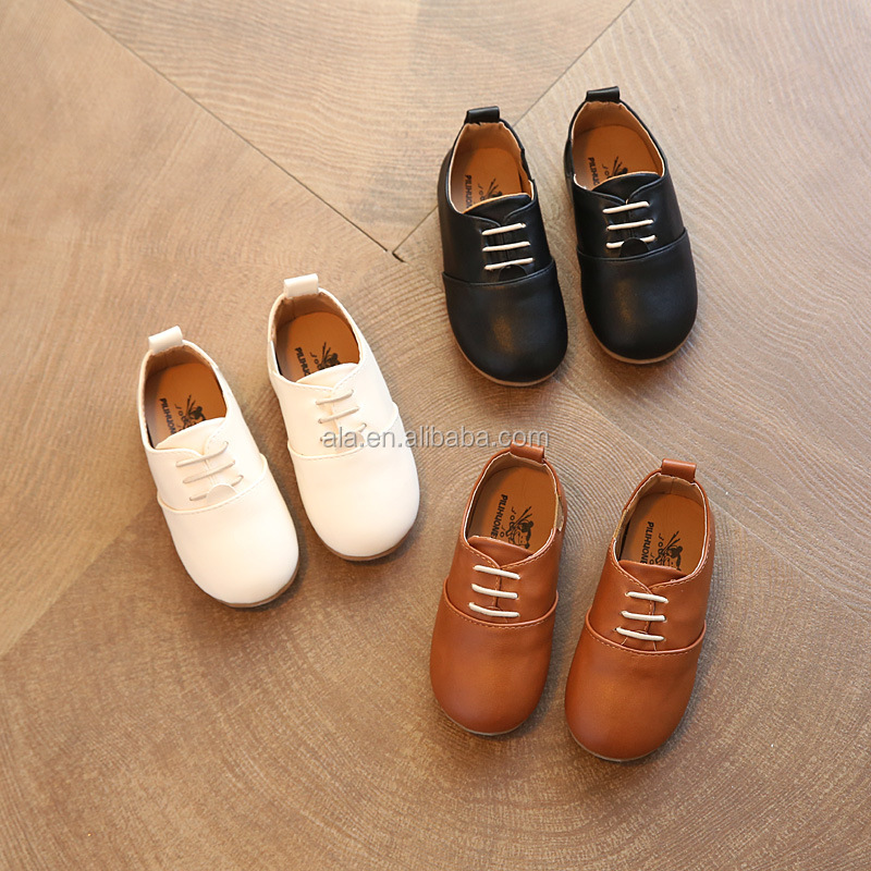 1-12 years dress shoes children boys real genuine leather shoes wholesale