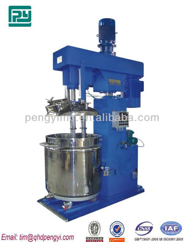 NC base Wood Stain furniture Paint double shaft high speed dispersing and mixing machines