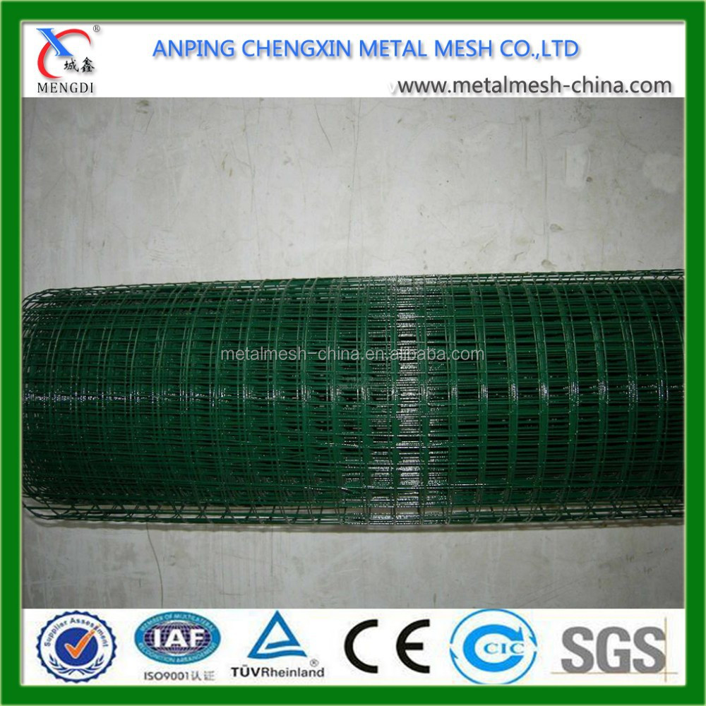 Wholesale Good Quality 1/2 inch Plastic Coated Welded Wire Mesh