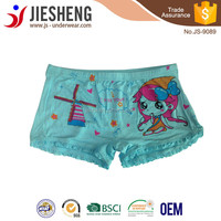Young teen girl boxers underwear new models design from factory