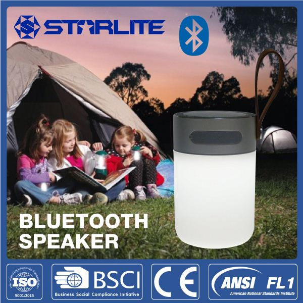 STARLITE USB Cable&Audio Cable lantern hand free wireless mini bluetooth speaker