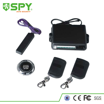 One Key Engine Start button With PKE Car Alarm System LC020