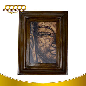 2016 Customized Cheap Price Art Buddha Face Wall Painting Frame