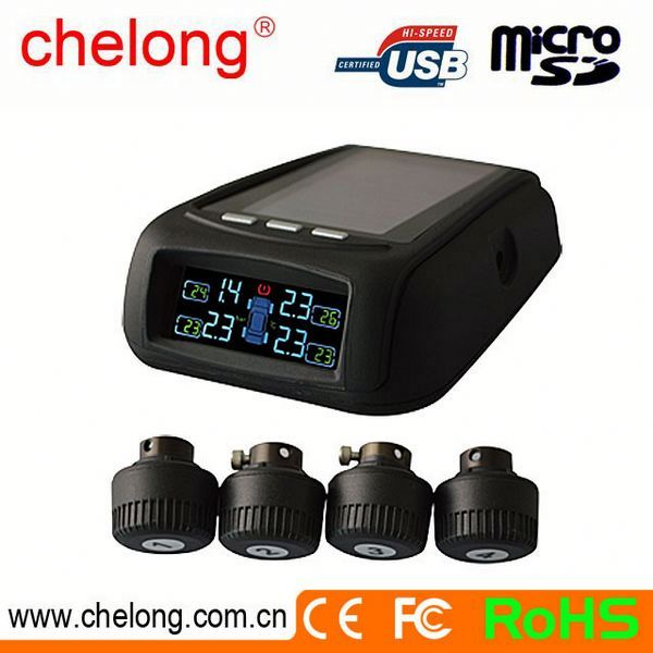 Manufacturer High Sensitive tyre pressure monitors wireless tire pressure monitoring system/auto car