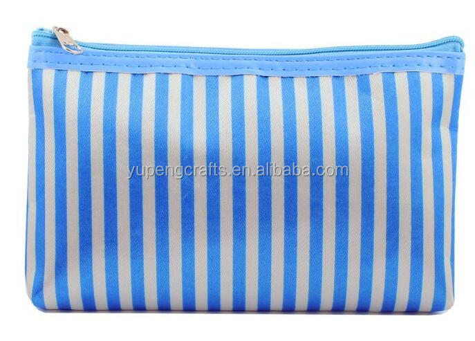 Promotion Make up Bag Satin Zipper Cosmetic Bags