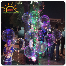 Hot Sale Led Balls 3M Strings Lights Decoration Lamp Festival Outdoor Balloon Show Love Ballon
