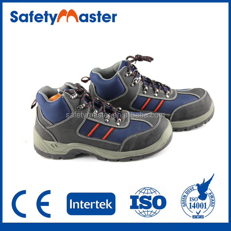Safetymaster high quality kickers safety shoes without lace