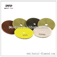 Diamond polishing pad used machines for marble and granite