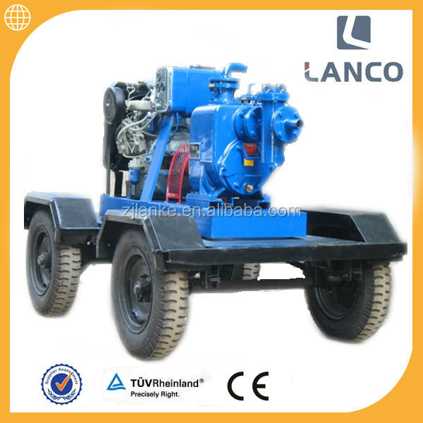 Lanco H type High pressure self priming centrifugal 6 inch 50 hp water pump
