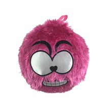 Inflatable emoji plush toy ball