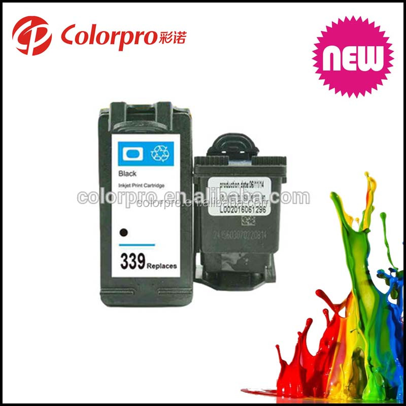 with reset chip Ink cartridge for HP339(C8767EE) for HP Deskjet 5740series/5940series/6520/6540/6620series/6830/6840/6940