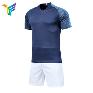 Any Customize Latest Football Team Men Sport Plain Sublimated Blank Soccer Jersey