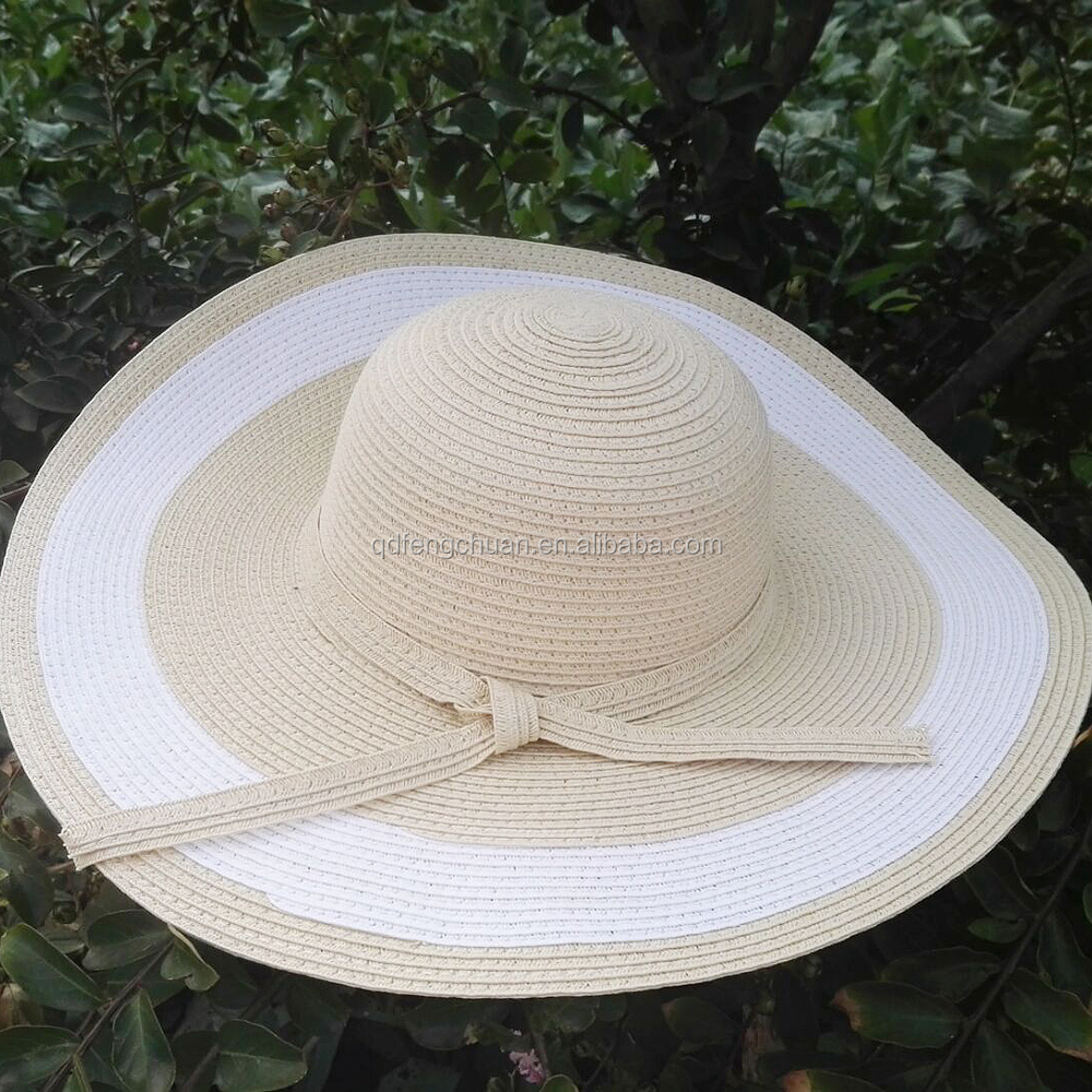 2016 cheap wholesale paper ladies straw hats
