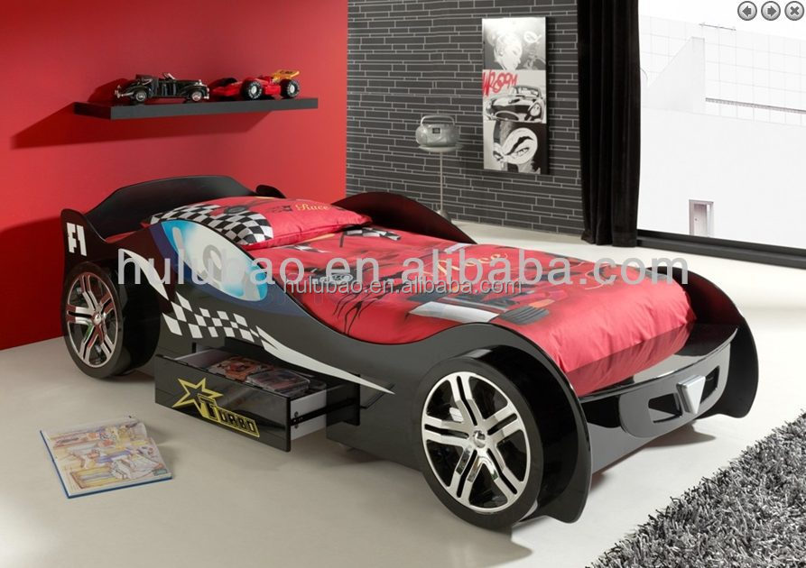 Kids race car beds lovely kid bed children car bed cb 1152 for Lit voiture ikea