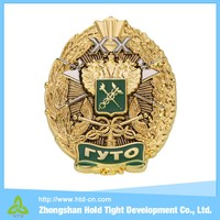 China Professional custom car emblem badge logo and custom rank badges