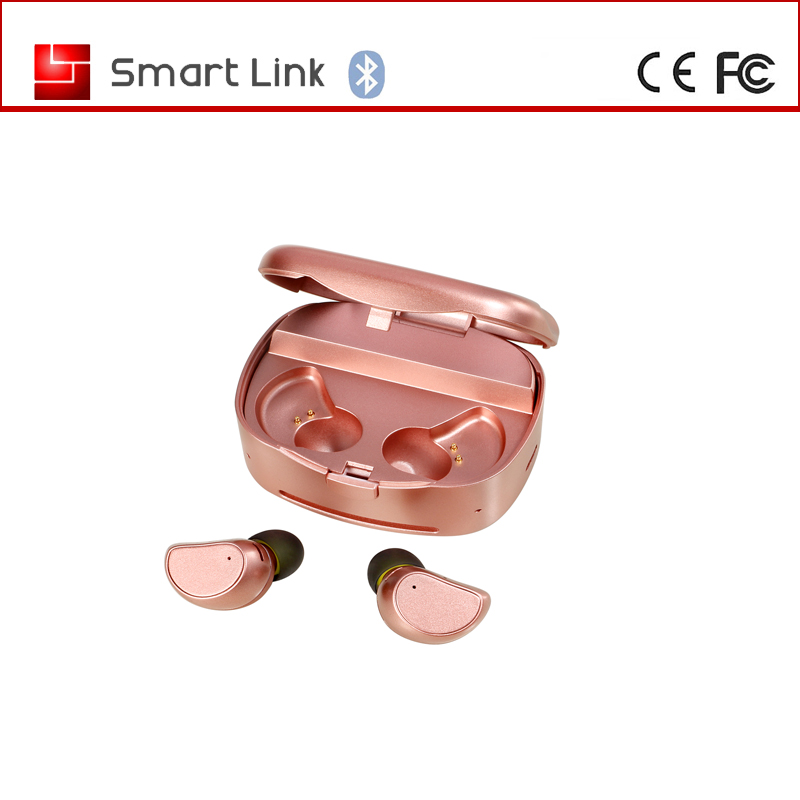 2017 New wireless earphones bluetooth for mini bluetooth earbuds with logo