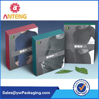 cosmetic paper box with inner tray