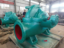 Horizontal or vertical split type electric motor high output water pumps