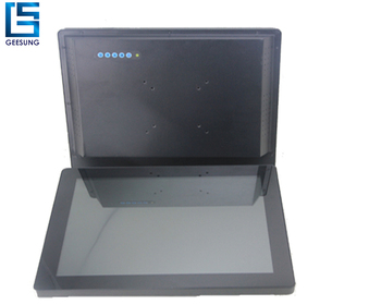 Small touch screen monitor metal case housing Capacitive Touch True Flat LED Monitor