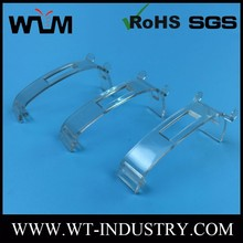 Custom Transparent Pc Plastic Part For Hold Shoe Rack Marker