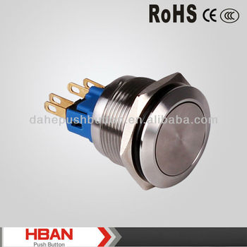 CE ROHS dia.22mm smart touch switches for home automation push button switch