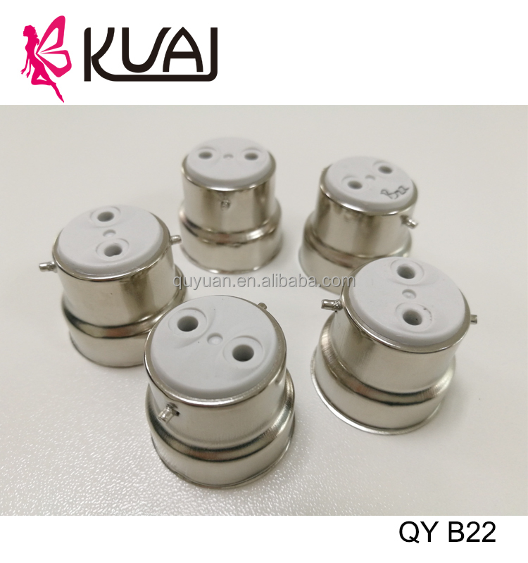 KUAI Hot Products 2017 Porcelain Bulb Holder Types B22 Free Sample