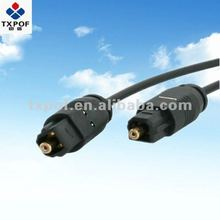 High quality assembled optical audio cable TOSLINK