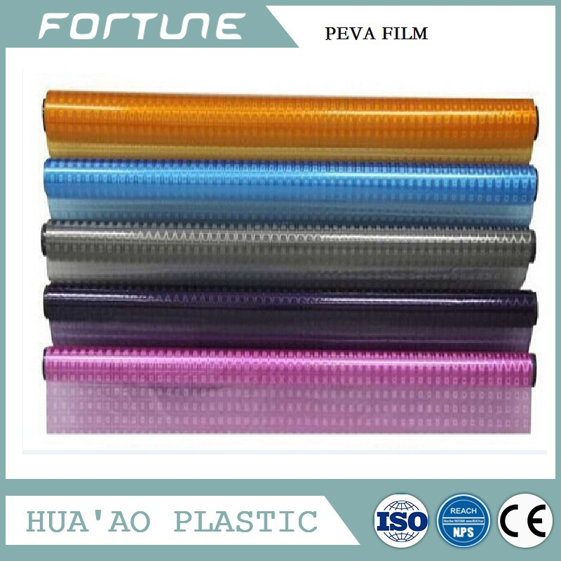 PEVA Film Roll With 3D Pattern For Decorative And Package
