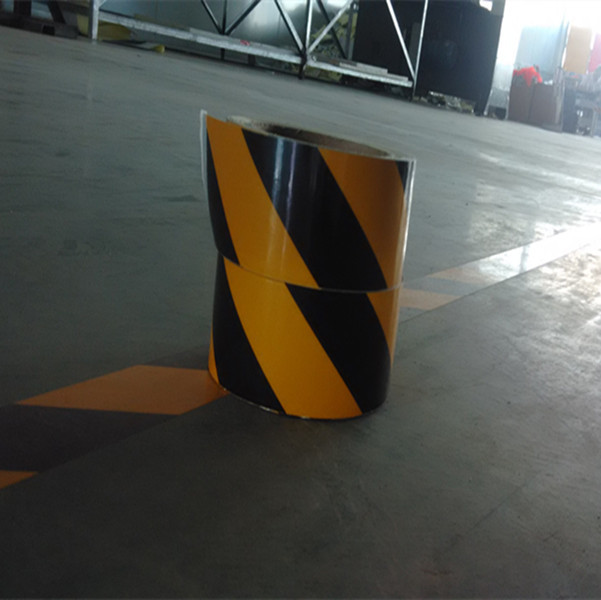 High intensity reflective underground detectable warning tape