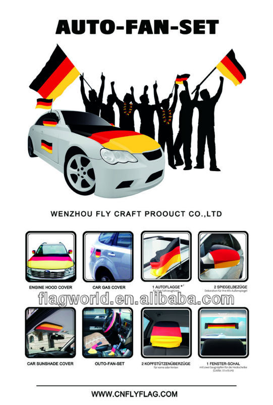 GERMAN polyeste car engine hood cover