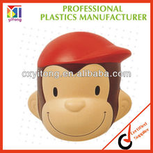 2013 New Promotional Gift,Monkey Shaped Anti Stress Ball