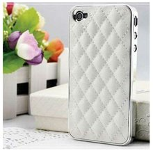 Brand new! luxury leather case for iphone 4