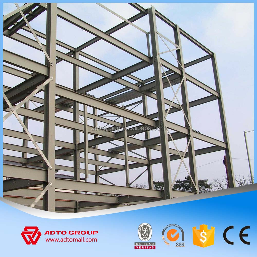 Plant,Warehouse,Villa,House,Hotel,Shop,Office,Workshop Use and steel plate, sandwich panel Material china Steel structure houses