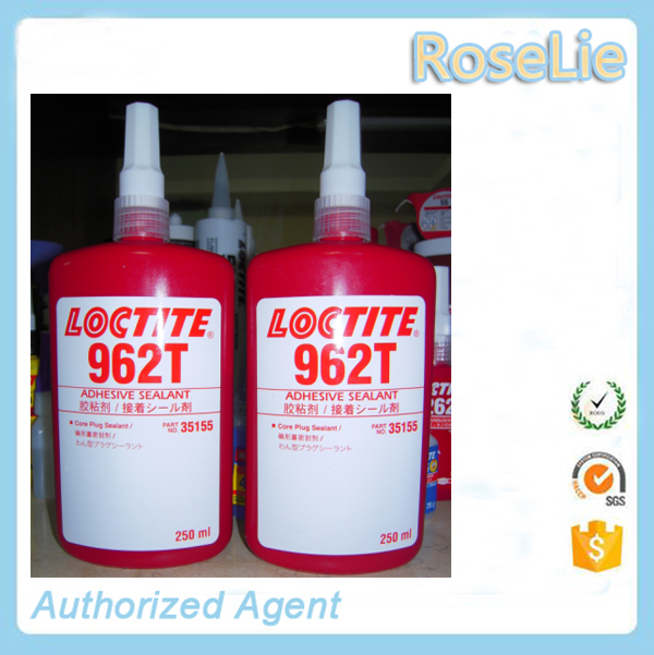 new glue products loctite 962t red liquid anaerobic adhesive sealant/ core plug sealant