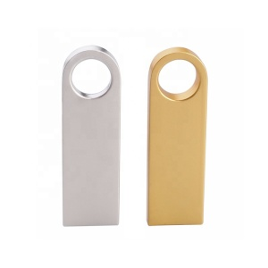 Promotion gold /silver color fashion gifts USB 3.0 mini metal USB flash drives 8GB 16GB 32GB