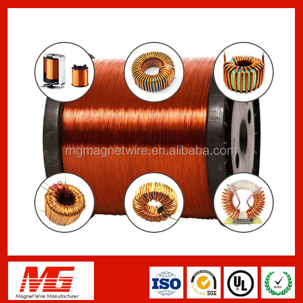 SWG 27 28 29 30 PEW 130 Gague 34 Enameled Copper Wire for Winding Transformers