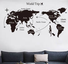 hot sale high quality wallpaper world map