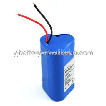 lithium battery factory wholesale price YJ18650 12v 2400mAh small rechargeable 12v battery