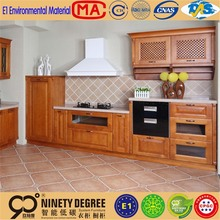 custom logo & design pencil cedar veneer faced plywood kitchen cabinet