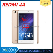 "Original Xiaomi Redmi 4A red rice 4A 2GB RAM 16GB ROM Snapdragon 425 Mobile Phone 3120 typ mAh Battery 5.0"" Metal Body"