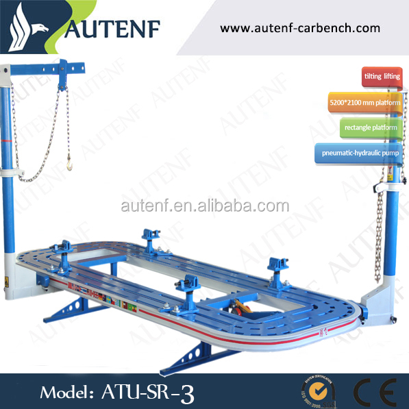 Hot sale! AUTENF rectangular tube material ATU-SR-3 car bench for sale