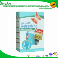 2014 new product Ice cool refreshing meningeal oil