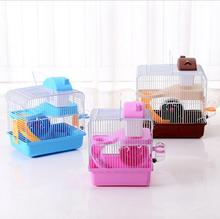 Wholesale Luxury Cute Pink Plastic Hamster Cage