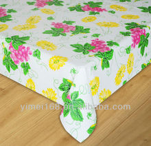 Flannel back plastic tablecloths 2014