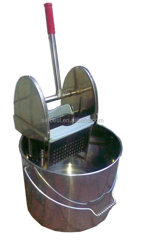 Stainless Steel Mop : Stainless Steel Mop Wringer Bucket - Buy Mop Bucket Wringer,Mop ...