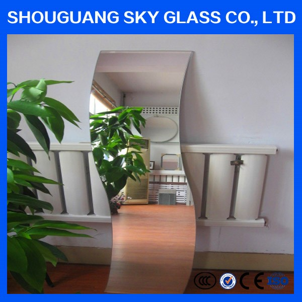 One-way sheet glass Aluminum mirror/colored mirror sheet price