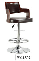 Gas Lift Stainless Steel Bar Stool Adjustable Swivel Bar Chair Wholesale