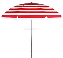 Double Roof outdoor beach Umbrella with air-vent