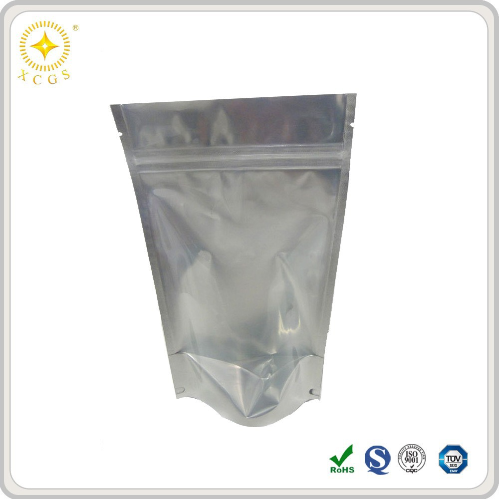 Wholesale Aluminum Foil Zip Lock Bags/Metallized Stand Up Pouches