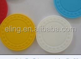 14 Gram Colorful Clay Poker Chips embossing stamp&common seal handle stamp